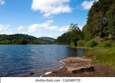 Loch Ard in Scotland.