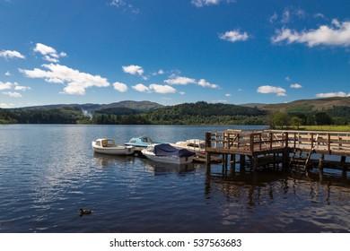 Loch Ard, Trossachs National Park, Stirling District, Scotland, United Kingdom