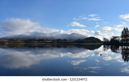 LOCH AWE - SCOTTISH HIGHLANDS Loch Awe (Scottish Gaelic: Loch Obha) is a large body of freshwater in Argyll and Bute, Scottish Highlands. It has also given its name to a village on its banks.