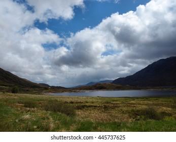 Loch Ba, Near Lochan na h-Achlaise - Beside the A82 in Scotland, Highlands