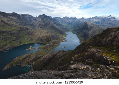 Loch Coruisk and the Cuillins, peace of mind from uphere.