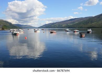 Loch Earn, vista in the Scottish Highlands