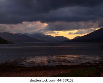 Loch Eil Storm - Scotland