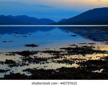Loch Eil Sunset and Reflection - Scotland