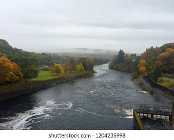 Loch Faskally from Pitlochry Damn