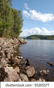 Loch Garry, a beautiful highland loch near Fort William