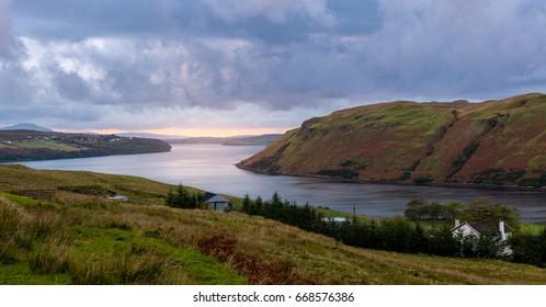 Loch Harport on Isle Of Skye