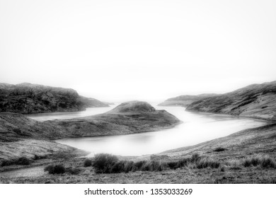 Loch Inchard, Kinlochbervie, fading into morning mists