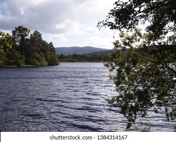 Loch Kinnord, in the Muir of Dinnet National Nature Reserve, Scotland