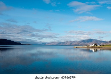 Loch Linnhe in the West Highlands of Scotland