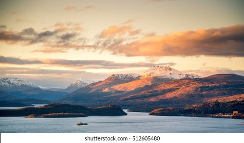 Loch Lomond looking onto Ben Lomond