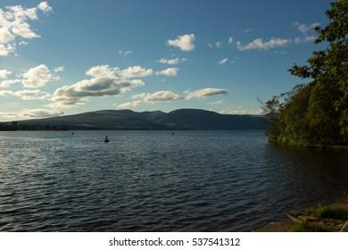 Loch Lomond, Trossachs National Park, Stirling District, Scotland, United Kingdom