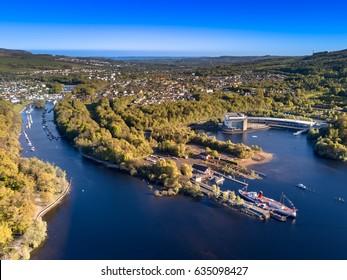 Loch Lomond views, Scotland in summer