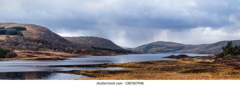 Loch Naver in Sutherland in the Scottish Highlands
