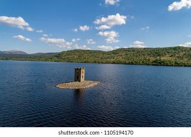 Loch Rannoch Folly (Eilean nam Faoileag)