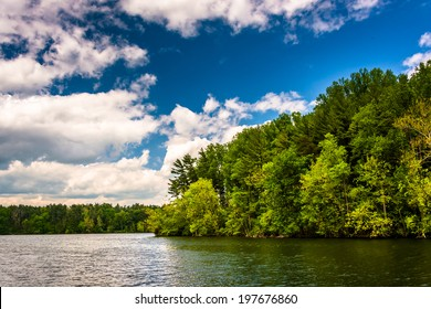Loch Raven Reservoir in Baltimore, Maryland.
