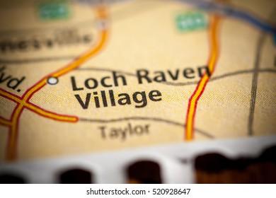 Loch Raven Village. Maryland. USA