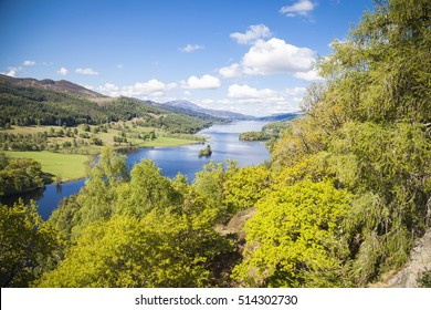 Loch Tummel seen from Queen's View - Perthshire Scotland