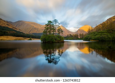 Lochan Urr Lake, Etive Valley, Scotland, United Kingdom, Europe