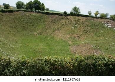 Lochnagar mine crater somme