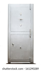 Lock box safe with two doors
