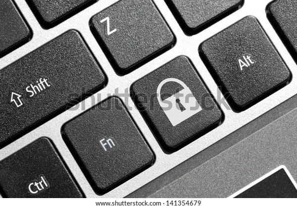 Lock button on the keyboard