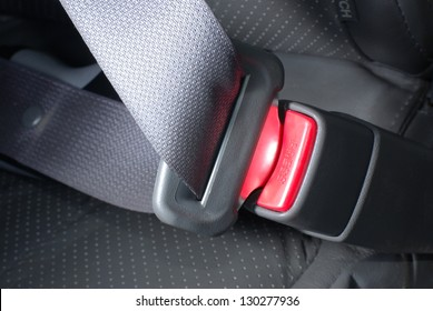 Lock car seatbelt
