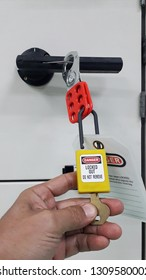 Lock out & Tag out , Lockout station , specific lockout devices and safety first point