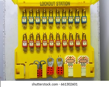 Lock out & Tag out , Lockout station,machine - specific lockout devices and