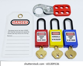 Lock out & Tag out ,Lockout stations , machine - specific lockout devices and lockout point