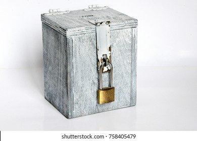 locked piggy bank