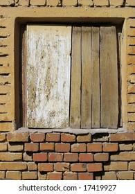 Locked window.