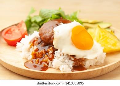 Loco Moco of Hawaiian cuisine