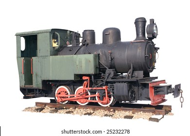 Locomotive try in museum in Chabowka, department of Crakow