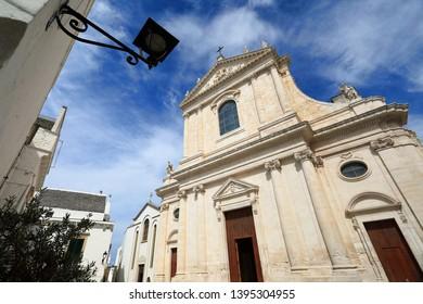 Locorotondo city in Apulia, southern Italy