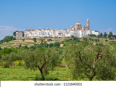 Locorotondo (Puglia, Italy) - The gorgeous white town in province of Bari, chosen among the top 10 most beautiful villages in Southern Italy