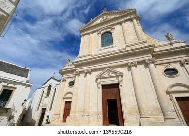 Locorotondo in Puglia, southern Italy