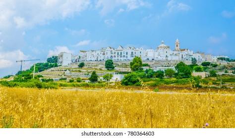Locorotondo town in Puglia, Italy