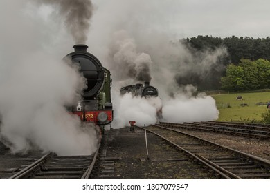 Locos steaming up