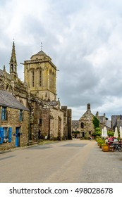 Locronan, sacred village in Finistere, Brittany
