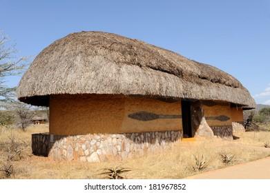 Lodge, resort. Africa. Kenya. Samburu national park