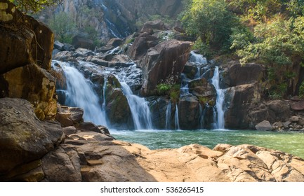 Lodh or Burhaghat waterfall in Jharkhand.