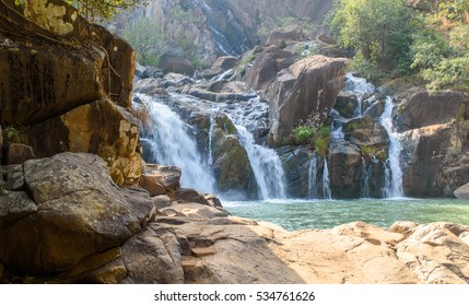 Lodh waterfalls at jharkhand.