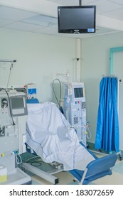LODI, ITALY - OCTOBER 3: Inauguration hall dialysis center the city of Lodi, Italy on October 3, 2011.