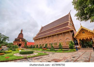 LOEI ,THAILAND-JUNE 11:Wat Neramit Wipatsana Loei, Thailand. at Dansai district Loei province, on June 11,2017
