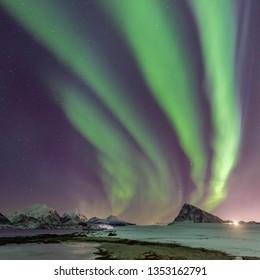 lofoten islands aurora borealis