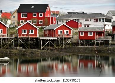Lofoten Islands Fishing Village