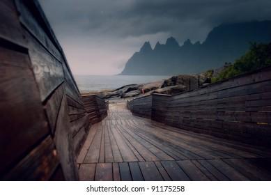 Lofoten islands of Norway.