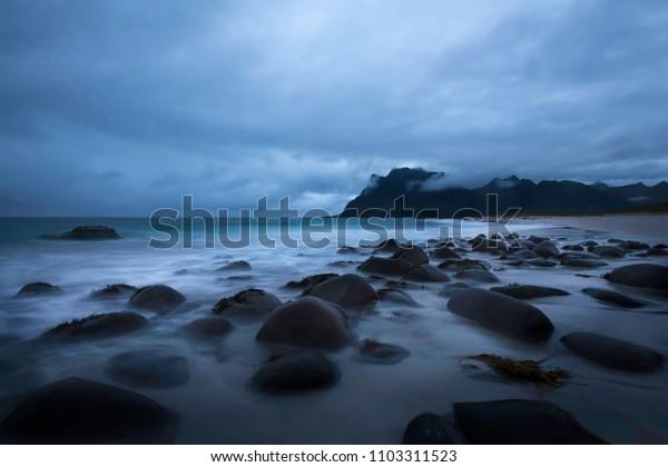 Lofoten islands, Utakliev beach
