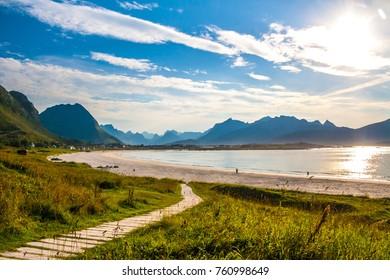 Lofoten Norway Beach